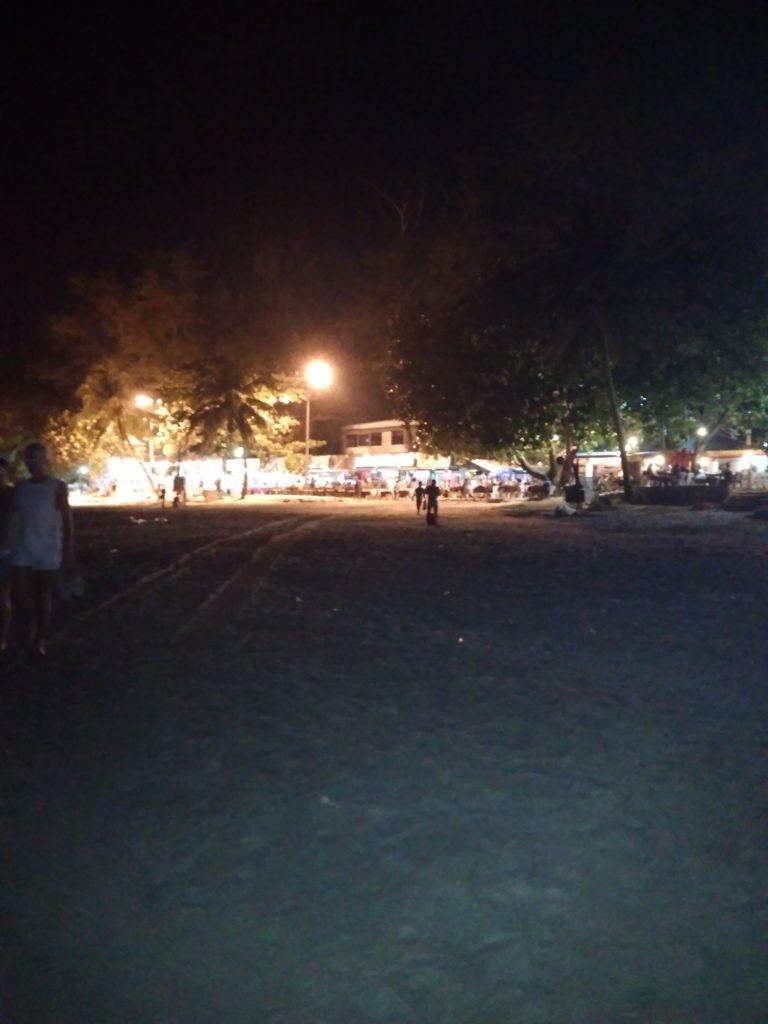 ночь пляж пхукет таиланд