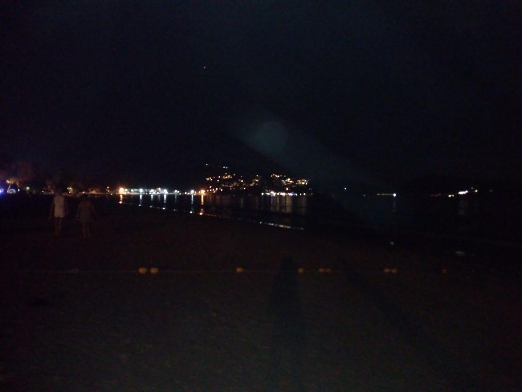 ночь огни