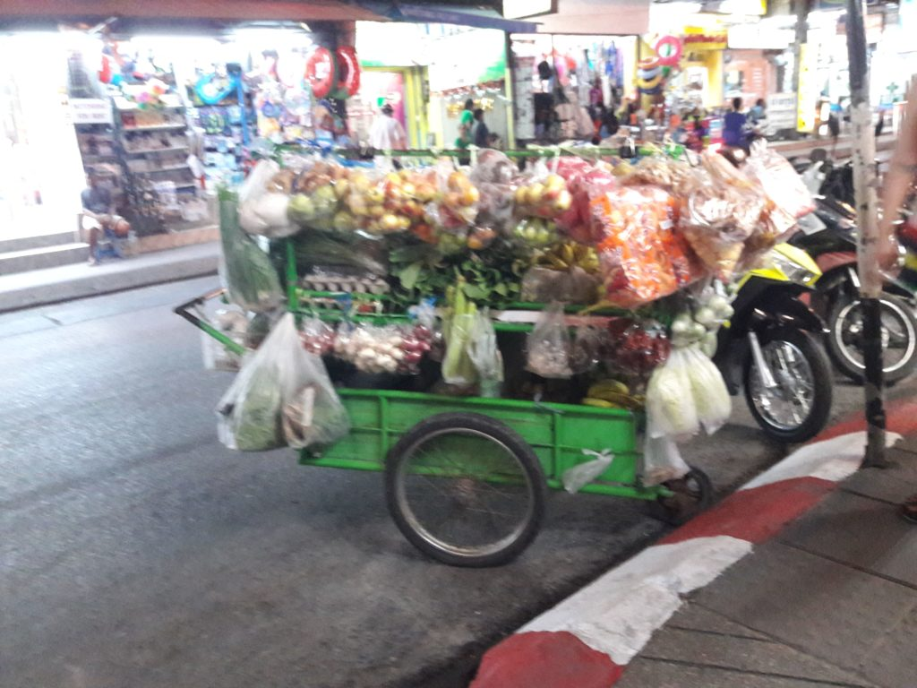 Таиланд  фрукты экзотика