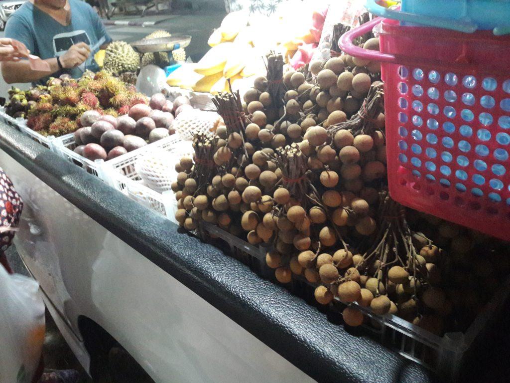 Таиланд рынок фрукты экзотика