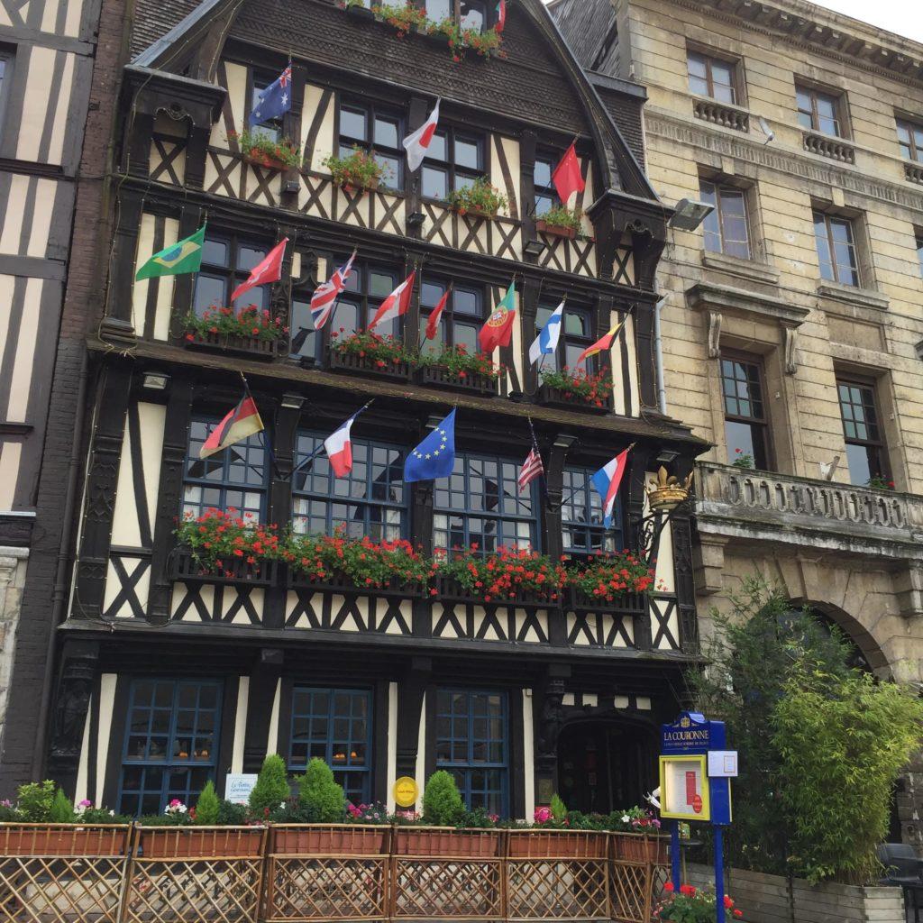 Руан Площадь старого рынка