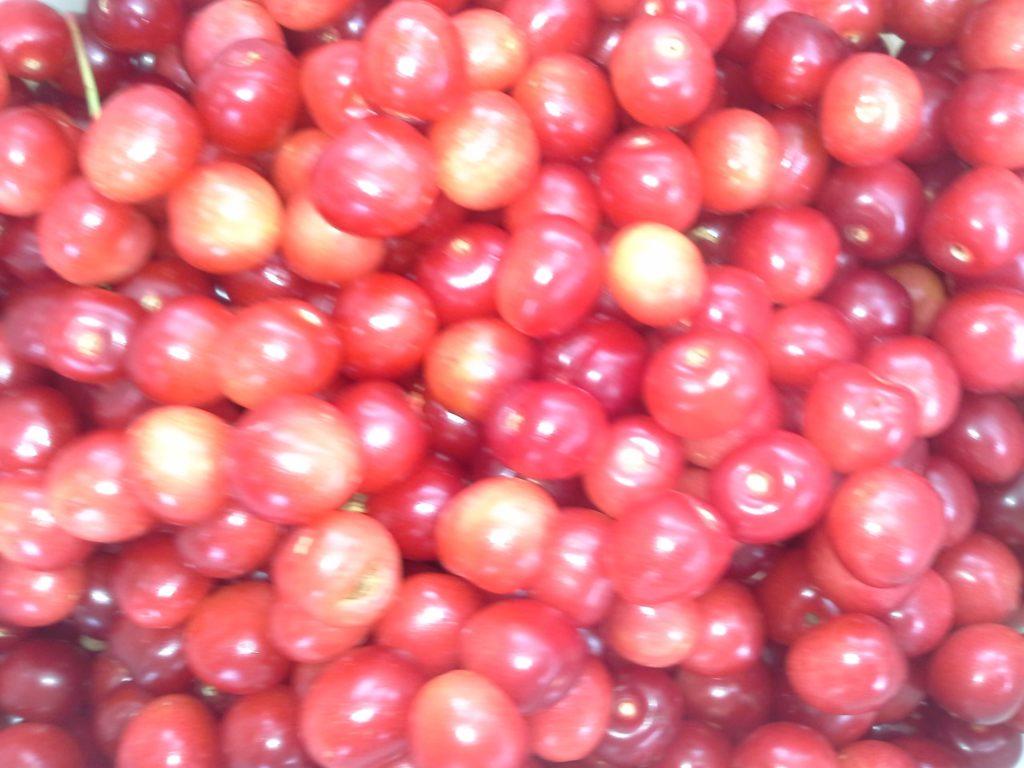 вишня черешня ягоа