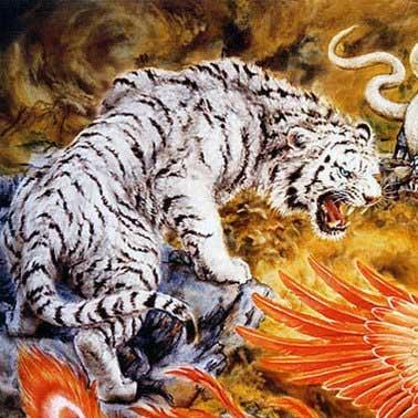 тигр черепаха фен шуй 4 животных феникс
