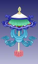зонт Будды