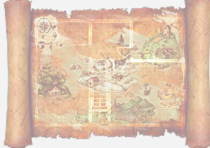 карта сокровищ игра