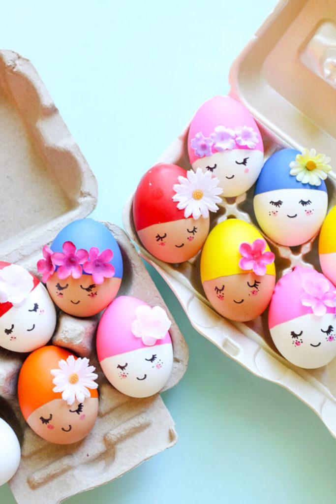 красят яйца