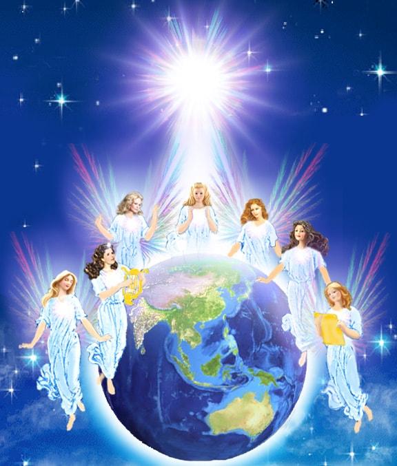 Семь ангелов-архангелов идут,