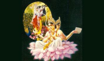 Кришна и Брахма